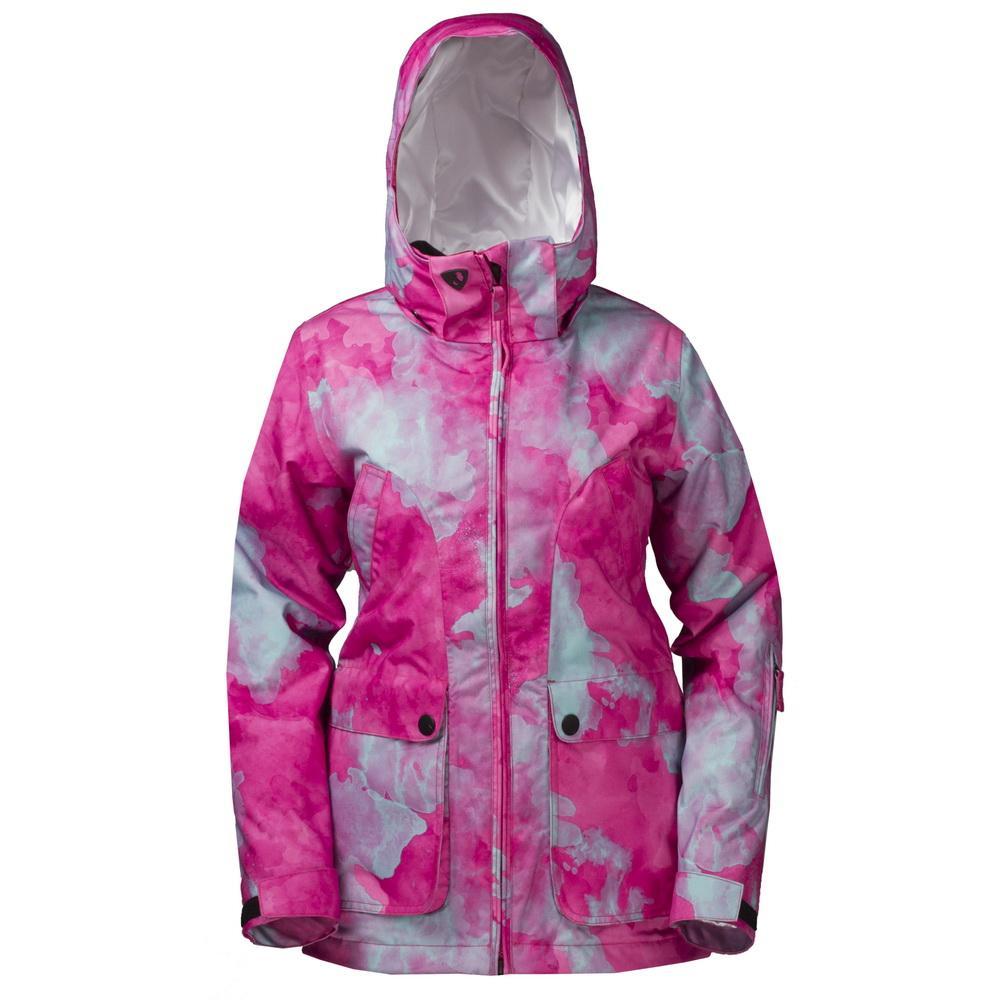 Куртка утепленная Blink W женскаяКуртки<br><br> Эта утепленная приталенная куртка создана преимущественно для горнолыжниц. Но сноубордистки, предпочитающие посадку по фигуре, также выбирают этот вариант. Удобные карманы на клапанах предотвращают попадание внутрь снега. Силуэт имеет функционально...<br><br>Цвет: Розовый<br>Размер: 42
