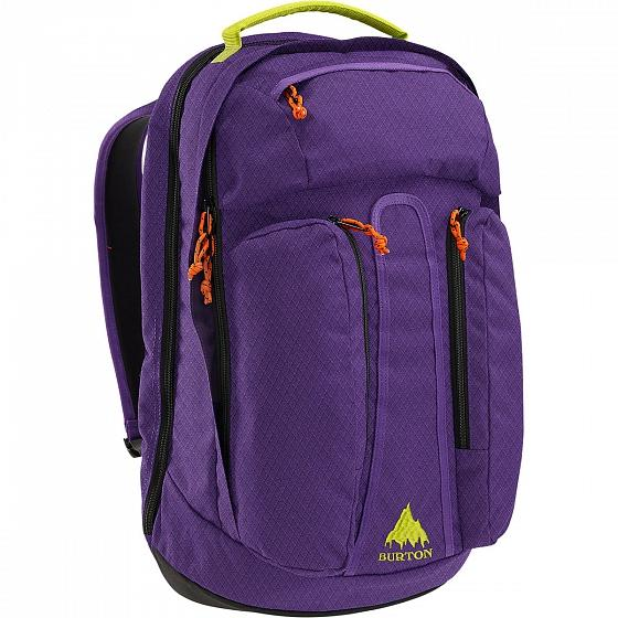 Burton Рюкзак CURBSHARK PACK (, GRAPE CRUSH DMND RIP, , FW15) burton рюкзак bravo pack gry hthr dimnd rpstp fw17
