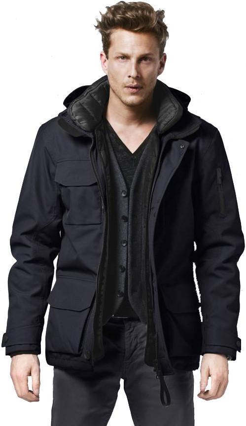 G-LAB Куртка утепленная мужская Commander Голубой g lab куртка утепленная мужская commander синий