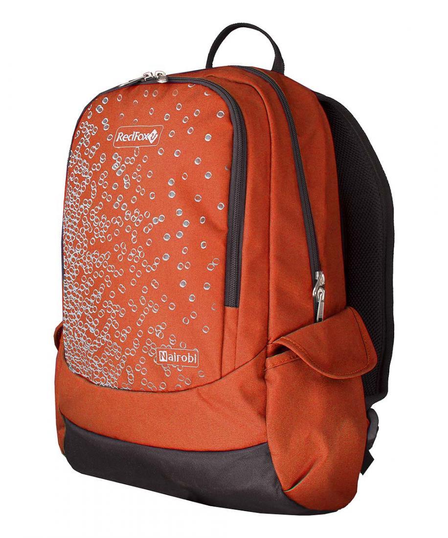 Рюкзак NairobiРюкзаки<br>Рюкзак Nairobi –городской рюкзак среднего объема<br><br>Подвесная система Active<br>смягчающая вставка в дно рюкзака<br>два боковых объемных кармана c клапаном<br>органайзер<br>карабин для ключей<br><br><br>&lt;l...<br><br>Цвет: Оранжевый<br>Размер: 25 л