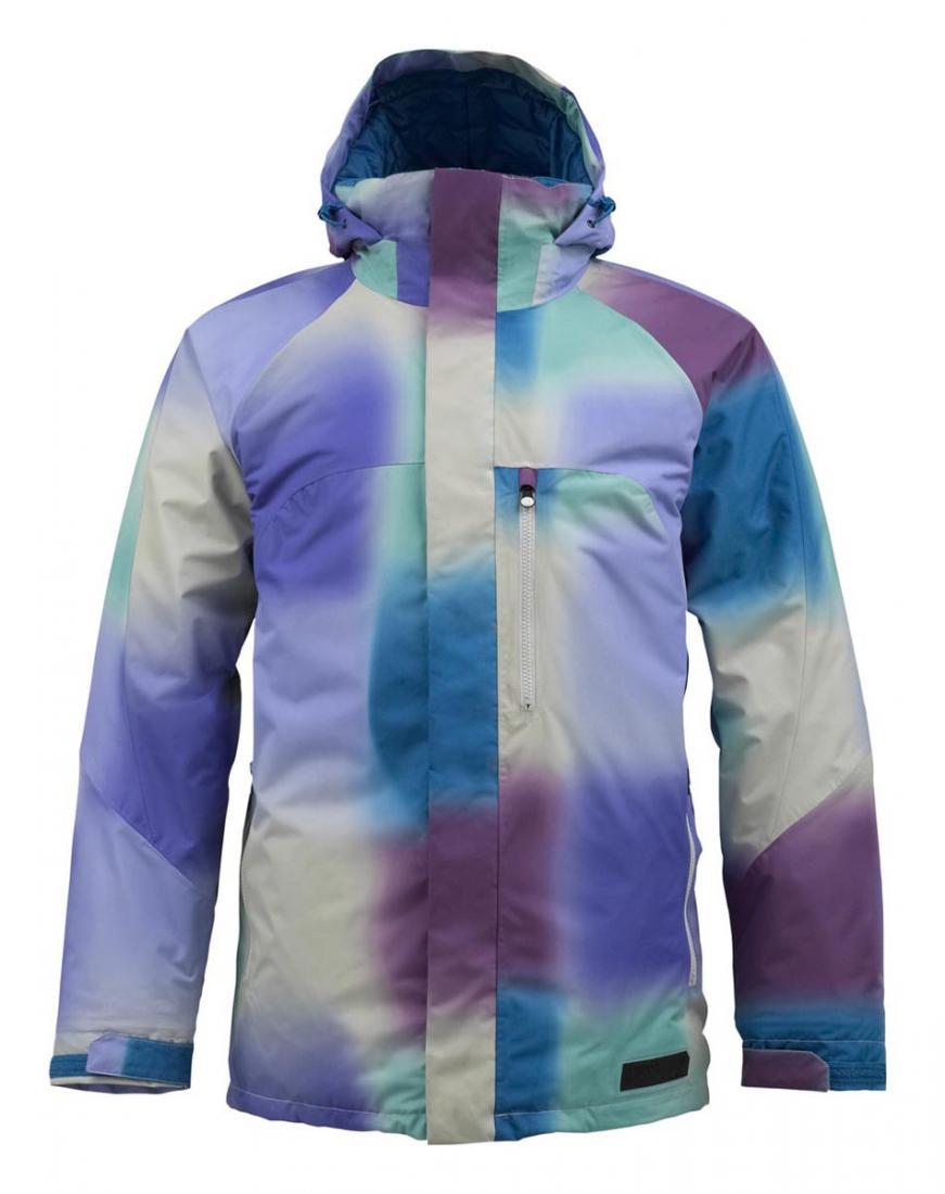 толстовка сноубордическая детская burton bonded blue ray Burton Куртка мужская HOSTILE Фиолетовый