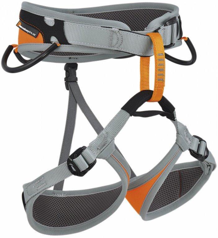Обвязки спортивные HopiОбвязки, беседки<br>HOPI – это полностью регулируемая обвязка для спортивного скалолазания для детей. Петли для ног конической формы подходят для небольших ног и обеспечивают высокий уровень комфорта. Одна быстрозастёгивающаяся пряжка на поясном ремне помогает быстро и бе...<br><br>Цвет: Серый<br>Размер: D1