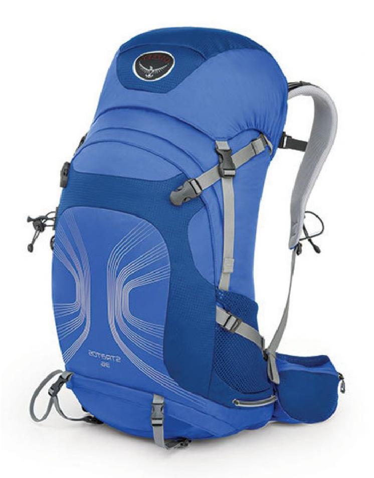 Рюкзак Stratos 36Туристические, треккинговые<br><br><br>Цвет: Голубой<br>Размер: 34 л
