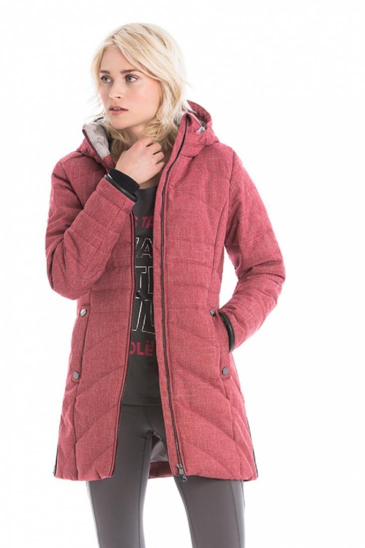 Куртка LUW0306 ZOA JACKETКуртки<br><br> Изящное утепленное пальто Zoa стеганного дизайна создано для ощущения полного комфорта в холодную погоду. Модель выполнена из влаго- и в...<br><br>Цвет: Красный<br>Размер: M