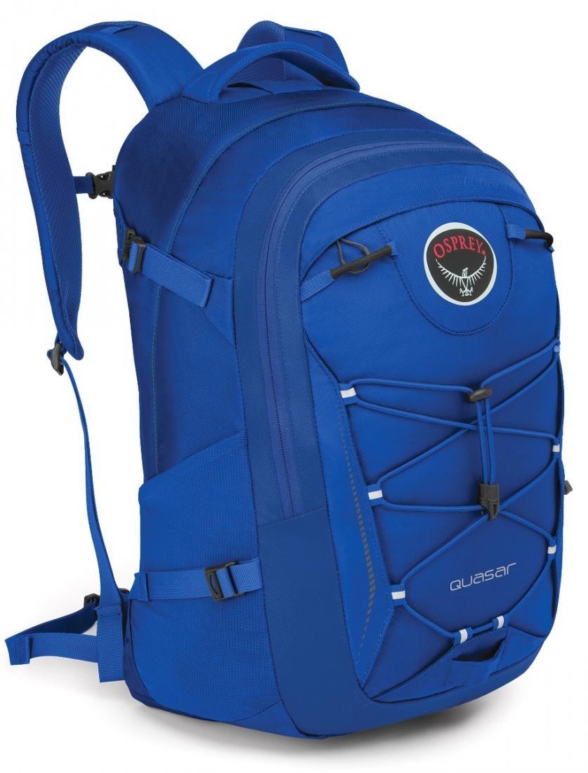 Рюкзак Quasar 28Рюкзаки<br>Обновленный рюкзак городской серии, в разработке которого бесспорно учли многолетний опыт создания рюкзаков Osprey.<br>Quasar 28 - универсальный прочный рюкзак высокого качества с множеством функциональных особенностей, превосходной организацией внутрен...<br><br>Цвет: Синий<br>Размер: 28 л