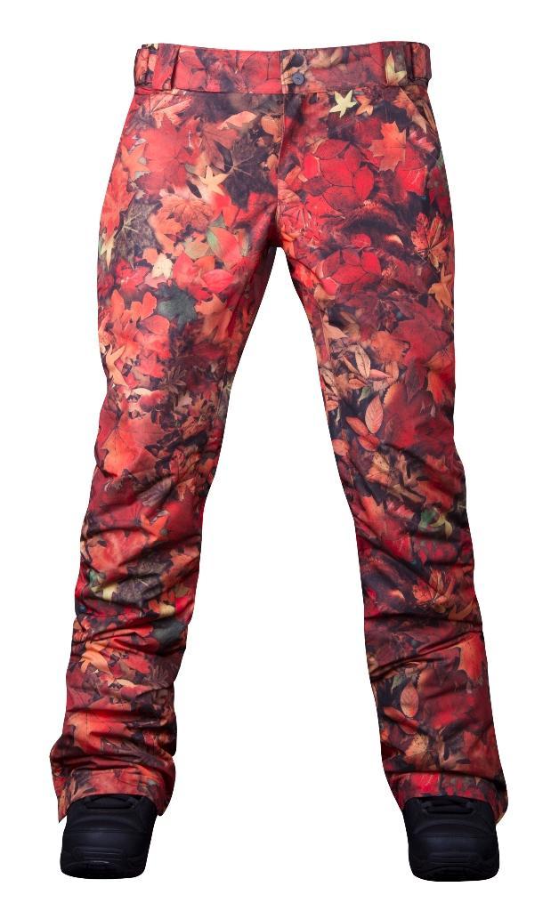 Штаны сноубордические утепленные Pure женскиеБрюки, штаны<br>Женские утепленные штаны, которые не увеличивают формы! За счет правильного кроя и удачной посадки сноубордические штаны Pure W сохраняют т...<br><br>Цвет: Малиновый<br>Размер: 46