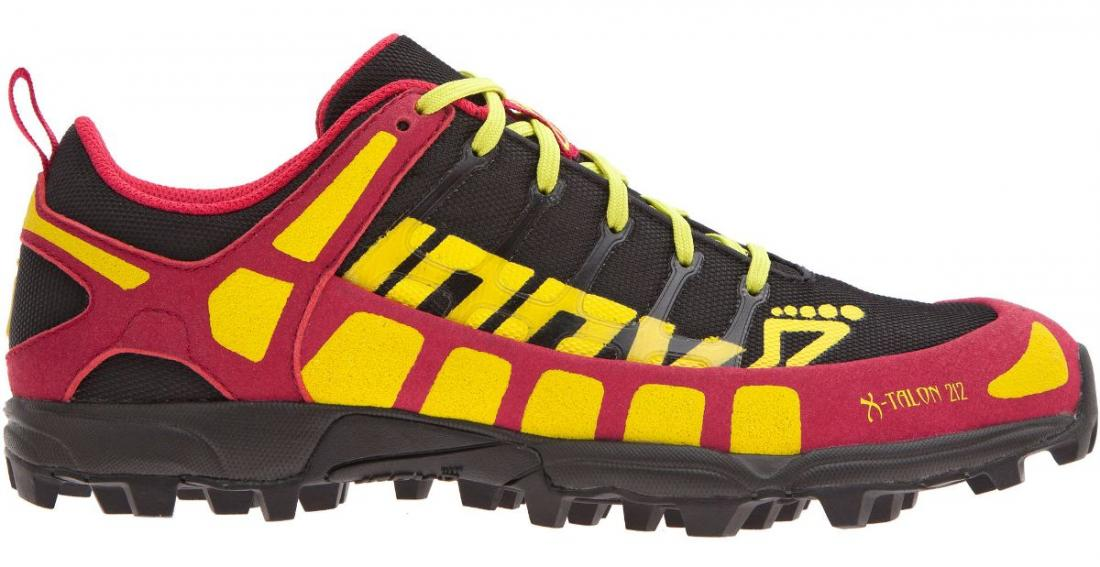 Inov-8 Кроссовки X-talon 212 жен. (4, Black/Pink/Teal, , ,) inov 8 футболка at c tri blend ss strip w 6 black pink