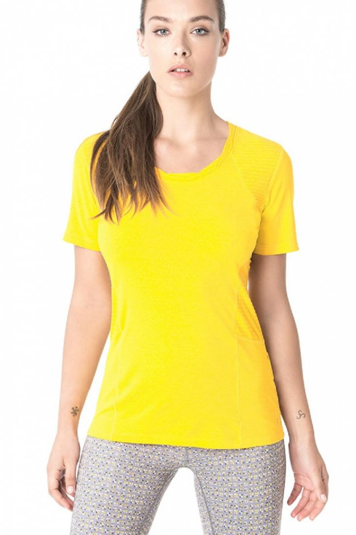 Топ LSW1465 DRIVE TOPФутболки, поло<br><br> Мягкая перфорированная фактура футболки Drive заставит Вас влюбиться в спорт, будь то утренняя пробежка в парке, прогулка на велосипеде и...<br><br>Цвет: Желтый<br>Размер: L