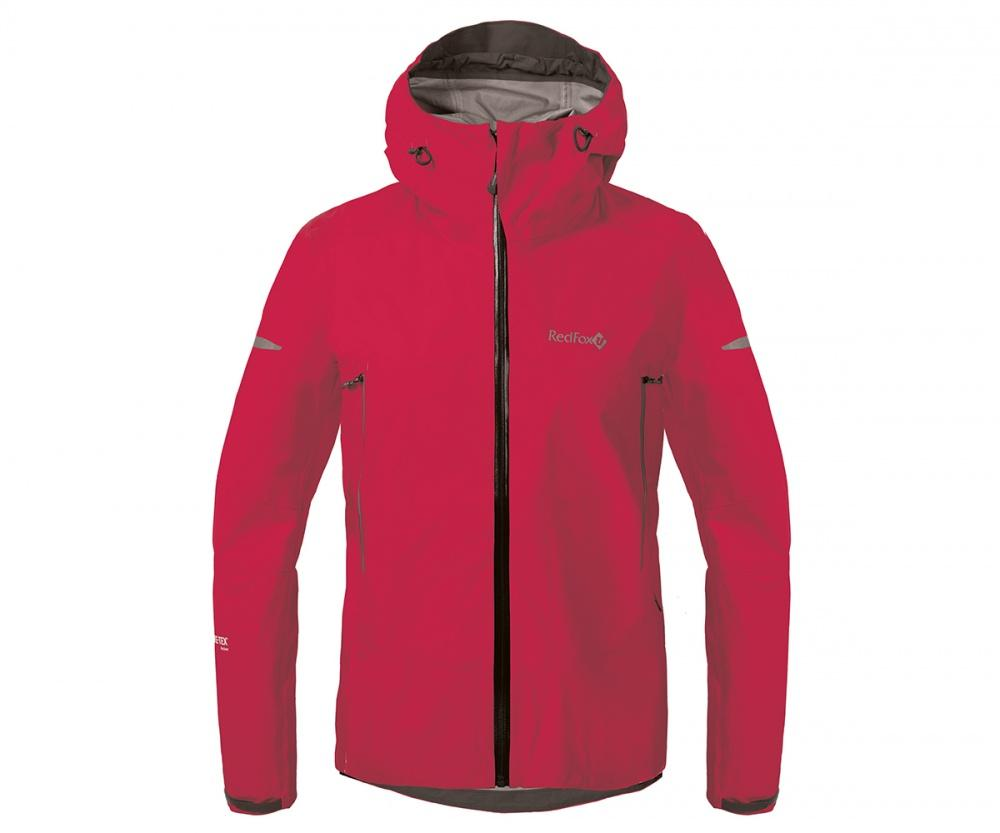 Куртка ветрозащитная SkyКуртки<br><br>Новейшая разработка в серии штормовых курток Red Fox, изготовлена из инновационного материала GORE-TEX® Active Products: самый низкий вес при высокой прочности и самые высокие показатели паропроницаемости при максимальной защите от дождя и ветра.<br>&lt;/...<br><br>Цвет: Малиновый<br>Размер: 44
