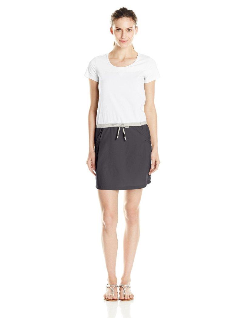 Платье LSW1295 MALENA DRESSПлатья<br><br> Легкое платье Lole Malena Dress LSW1295 с округлым вырезом представляет собой сочетание стиля и практичности. Ввиду особенностей кроя оно подчерк...<br><br>Цвет: Белый<br>Размер: L