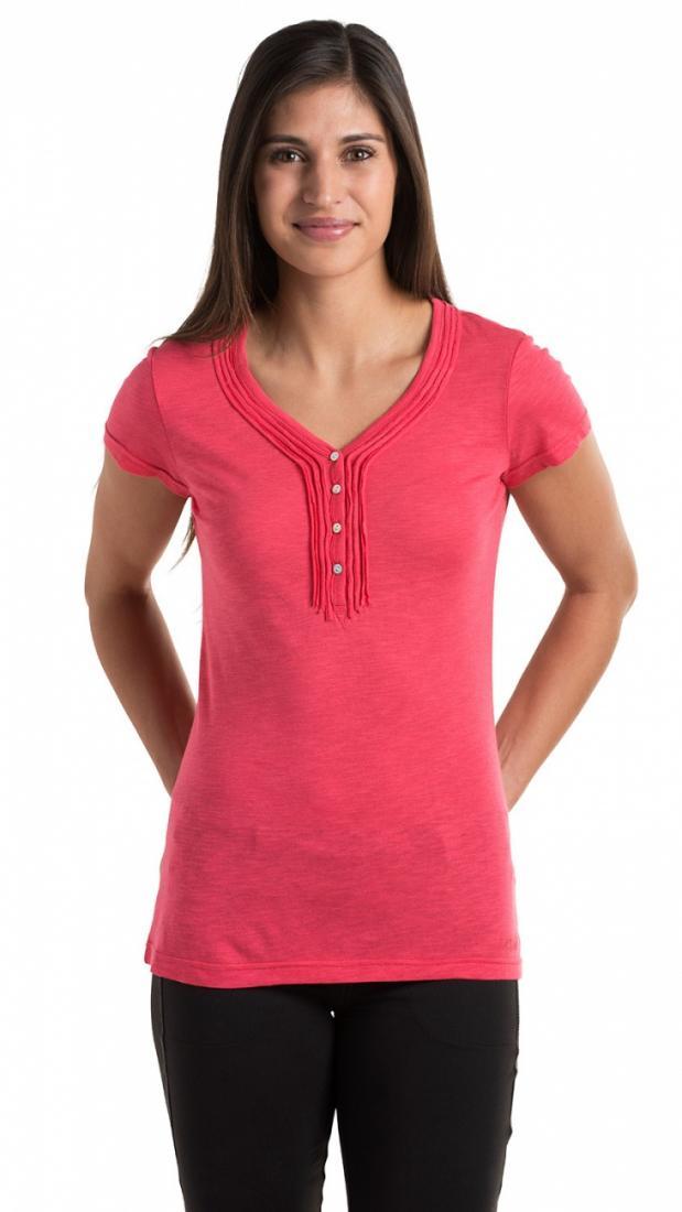 Топ Vega HenleyФутболки, поло<br><br>Материал – модал 60%, органический хлопок 40% (мягкий и гигиеничный).<br>Одежда сохраняет первоначальный цвет и форму даже после мног...<br><br>Цвет: Красный<br>Размер: M