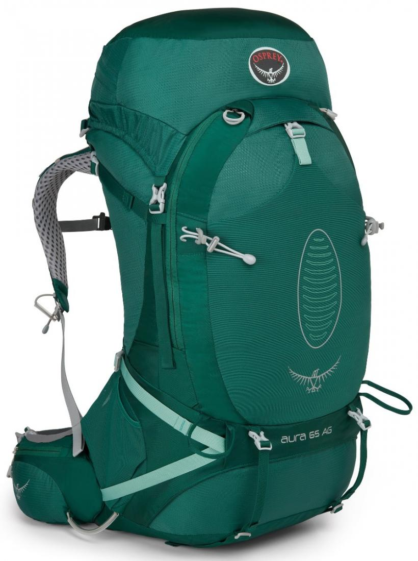 Osprey Рюкзак Aura AG 65 Women's (M, Rainforest Green, ,) osprey рюкзак raven 14 clover green