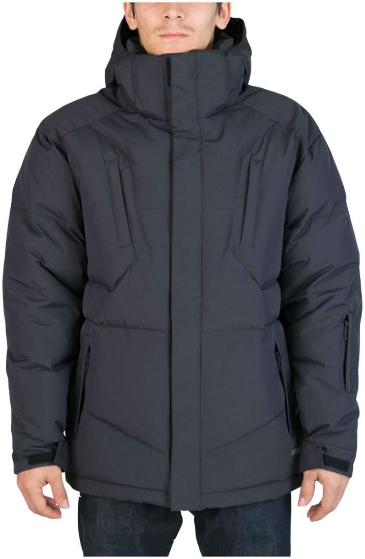 Куртка пуховая Booster IIКуртки<br><br><br>Цвет: Черный<br>Размер: 50
