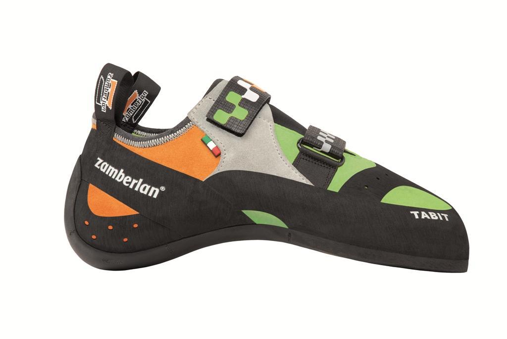 Скальные туфли A50 TABITСкальные туфли<br><br> Эти скальные туфли с сильным изгибом и сверх асимметричной колодкой идеально подходт дл высокого уровн техники скалолазани и обеспечиват необычайну чувствительность стопы к самым неприметным упорам на склоне. Сверхточна и выверенна модель. ...<br><br>Цвет: Зеленый<br>Размер: 40.5
