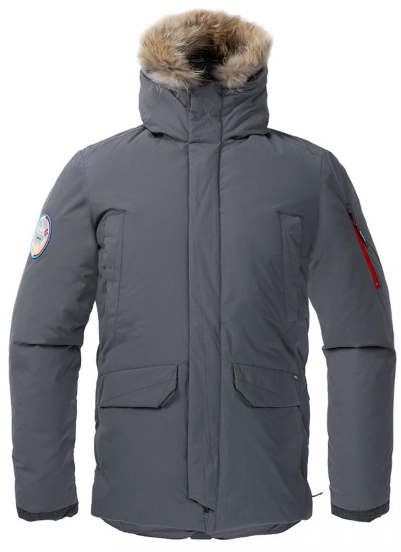 Полупальто пуховое Tundra МужскоеПальто<br><br> Самая теплая пуховая модель коллекции Nordic Styleдля использования в условиях сверхнизких температур.<br><br><br> Основные характеристики:...<br><br>Цвет: Темно-серый<br>Размер: 46