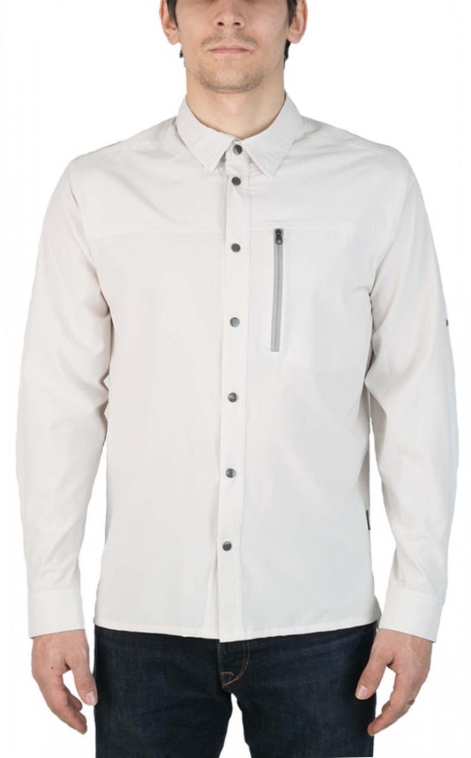 Рубашка PanhandlerРубашки<br><br> Функциональная рубашка свободного кроя, выполненная из легкой быстросохнущей ткани. Комфортна дляпутешествий и треккинга.<br><br><br> Ос...<br><br>Цвет: Бежевый<br>Размер: 60