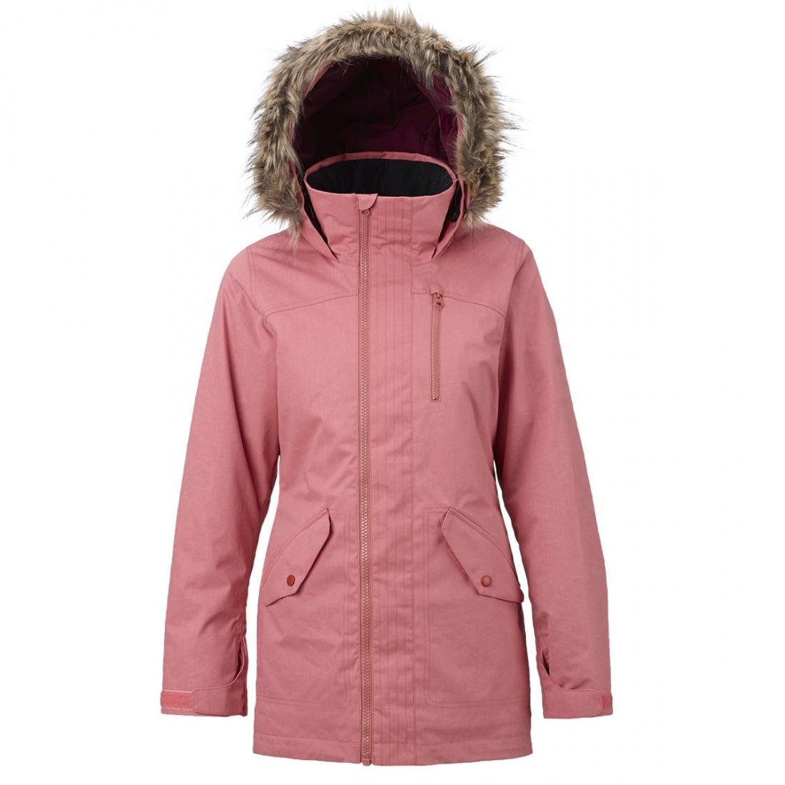 Burton Куртка WB HAZEL JK женская горнолыжная Бежевый