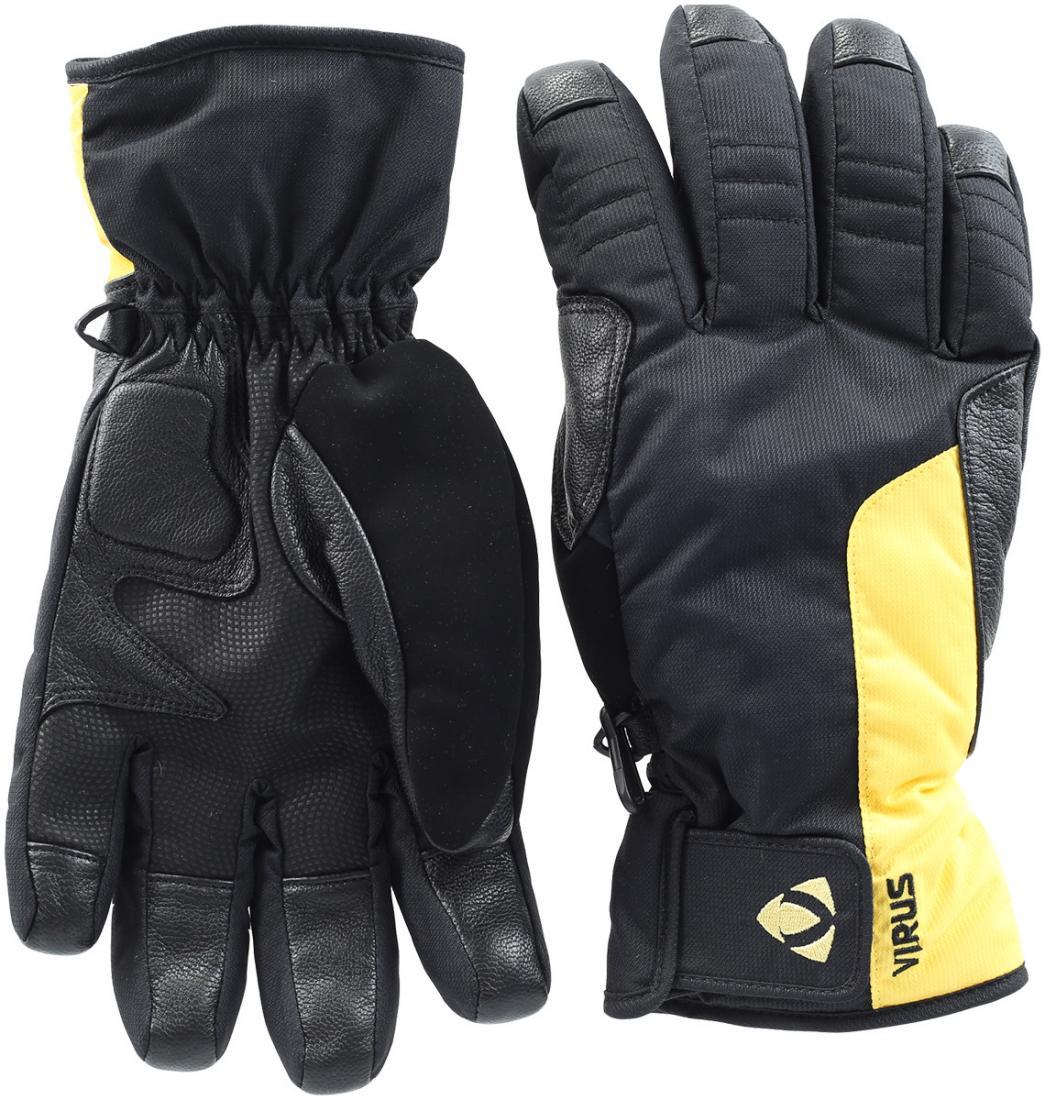 Перчатки AlarmПерчатки<br><br> Удобные мужские перчатки с кожаной вставкой на ладони, устойчивой к истиранию. Регулировка на запястье для прочной фиксации. И утеплитель HyperLoft для надежной защиты от холода.<br><br><br>Цвет: Серый<br>Размер: L
