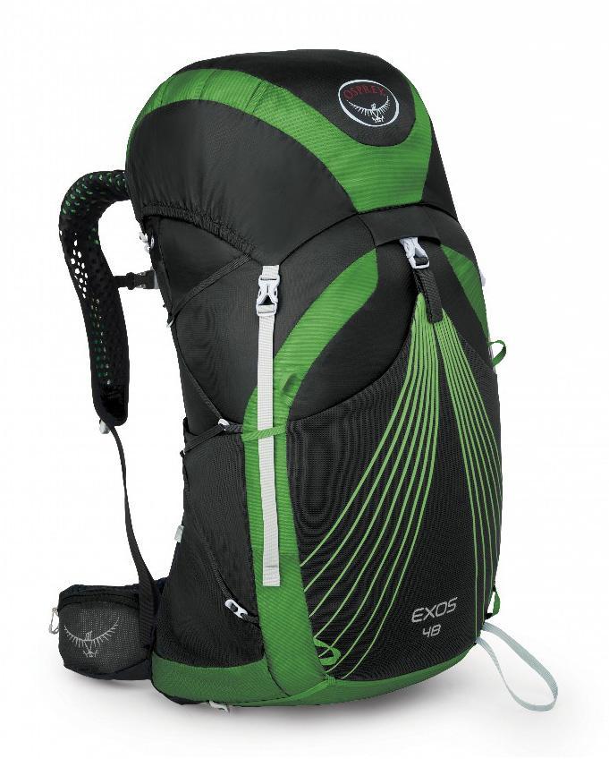 Osprey Рюкзак Exos 48 (S, Basalt Black, ,)
