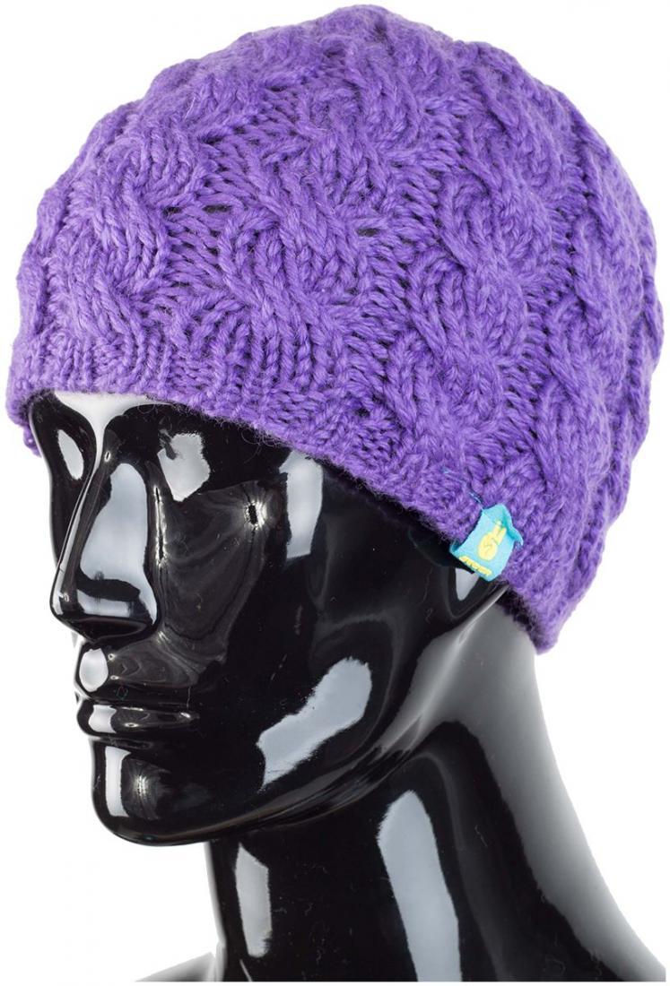 Шапка Sonja купить в интернет-магазине в Москве, цена 599 |Шапка Sonja Фиолетовый