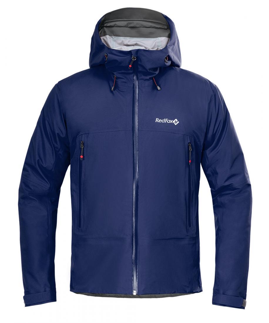 Куртка ветрозащитная Vinson II МужскаяКуртки<br>Классическая трехслойная штормовая куртка, выполненна из очень прочного материала с высокой сопротивляемостью к абразивному износу<br><br>основное назначение: Альпинизм<br>регулируемый в трех плоскостях капюшон с ламинированным козырьком...<br><br>Цвет: Синий<br>Размер: M