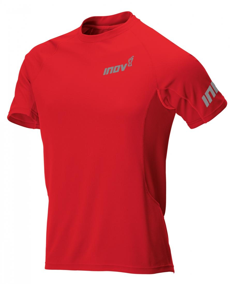 Inov-8 Футболка Base Elite SS M (XS, RED, ,) inov 8 футболка at c tri blend ss strip w 6 black pink