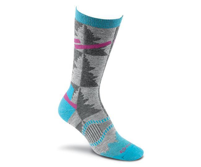 Носки турист. 2535 Cypress Crew жен.Носки<br>Эти носки средней толщины подходят для любых приключений. Они изготовлены из устойчивых волокон TENCEL® и мериносовой шерсти, благодаря чем...<br><br>Цвет: Бирюзовый<br>Размер: M