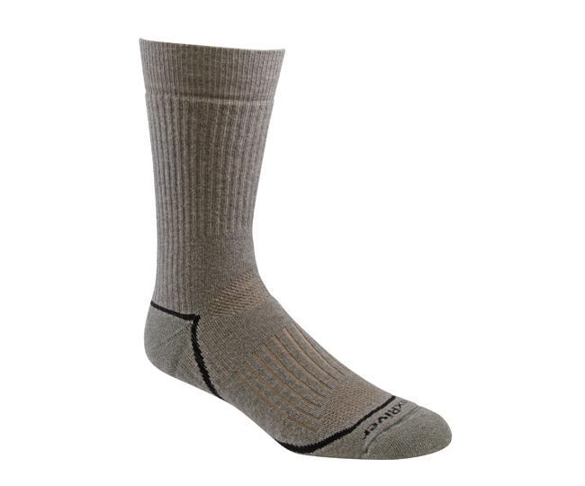 Носки турист.2454 PIONEER CREWНоски<br><br> Носки из мягкой мериносовой шерсти прекрасно впитывают влагу и сохранят ваши ноги в комфорте при любых температурах. Специальная вязка обеспечивает идеальную посадку и предотвращает образование складок.<br><br><br>Специальные вентилируемые в...<br><br>Цвет: Хаки<br>Размер: XL