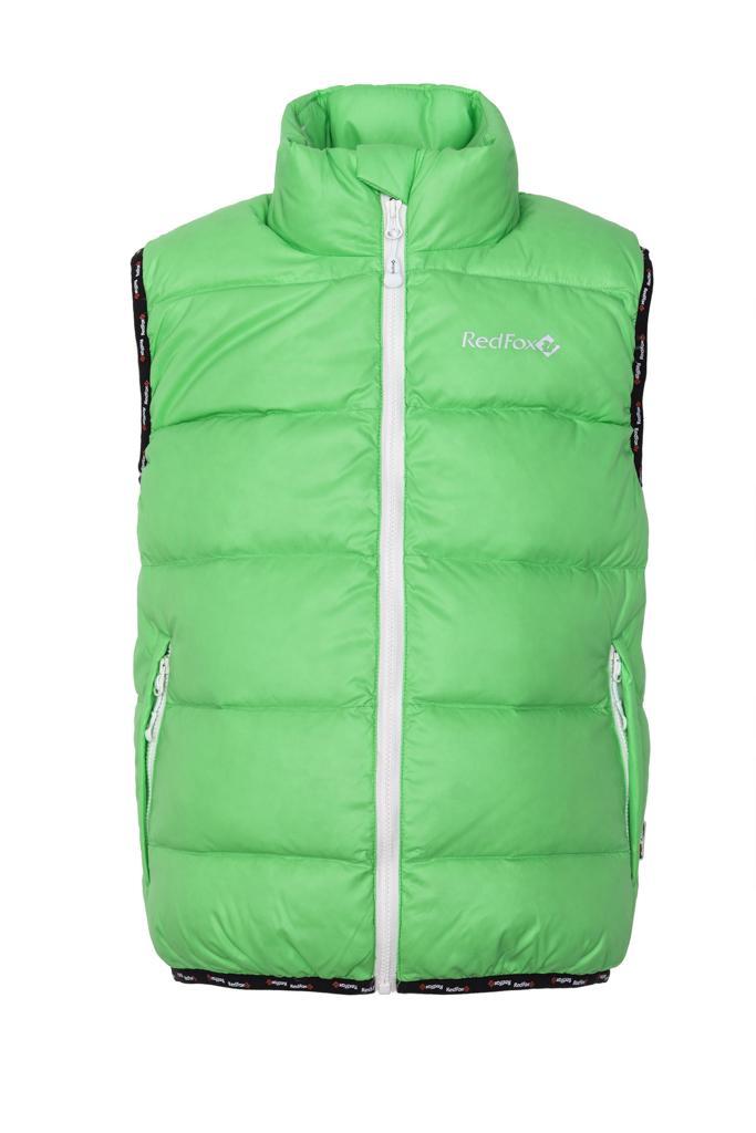 Жилет пуховый Everest ДетскийЖилеты<br>Легкий пуховый жилет для долгих и комфортных прогулок. Идеально подходит в качестве дополнительного утепления для прогулок в промозглую п...<br><br>Цвет: Светло-зеленый<br>Размер: 128