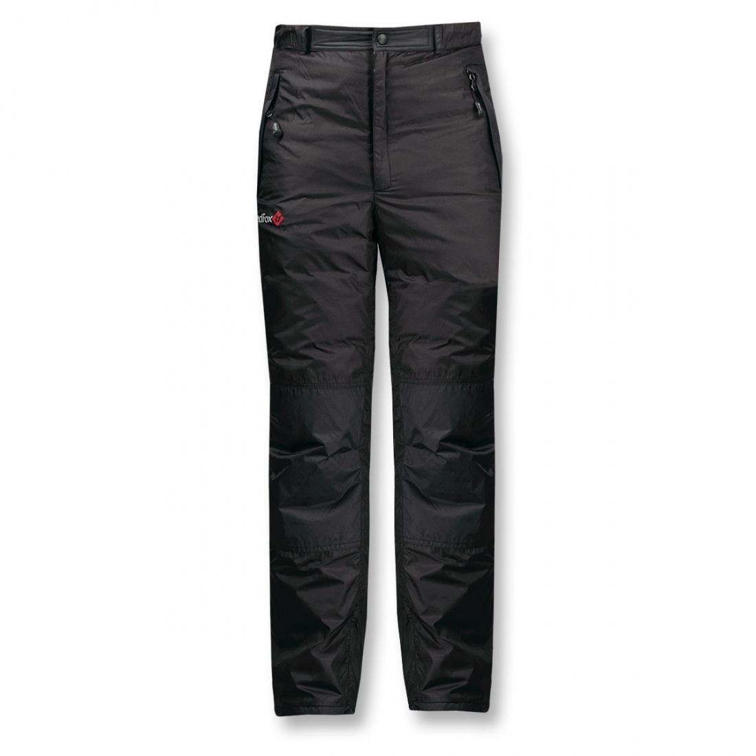 Брюки пуховые Ultra Light IIБрюки, штаны<br>Сверхлегкие теплые и удобные пуховые брюки из серии Mountain Sport.<br> <br><br>Материал – Pertex® Classic.<br>Утеплитель – гусиный пух (F.P. 600+)<br>...<br><br>Цвет: Черный<br>Размер: 50