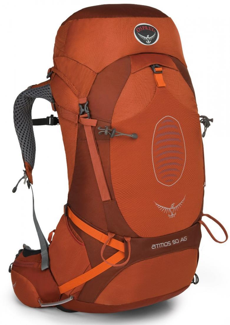 Рюкзак Atmos AG 50Туристические, треккинговые<br><br> Принципиально новый рюкзак Atmos AG, получивший награду Innovation Gold award , оснащен уникальной системой AntiGravity™ с первым в мире полностью вентилируемым поясным ремнем. Где бы вы не находились, будь то путешествие по пустыне или трекинг в т...<br><br>Цвет: Зеленый<br>Размер: 50 л