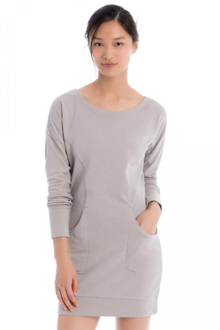 Lole Платье LSW1922 SIKA DRESS (S, WARM GREY HEATHER, , ,) lole платье lsw1725 sarah dress l vallarta blue palm