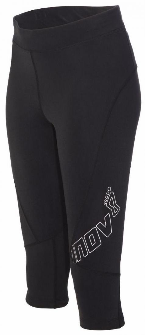 Inov-8 Брюки AT/C 3QTR W (S, Black, , ,) inov 8 футболка at c tri blend ss strip w 6 black pink