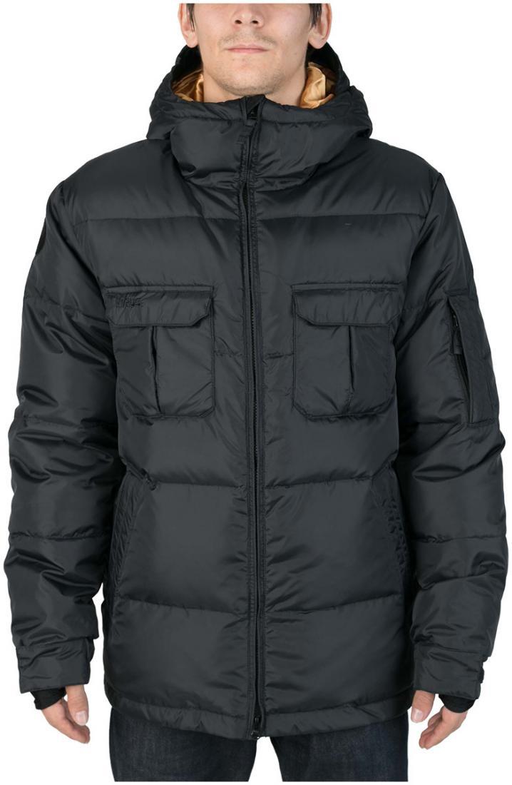 Куртка пуховая FroSTКуртки<br><br><br>Цвет: Черный<br>Размер: 50