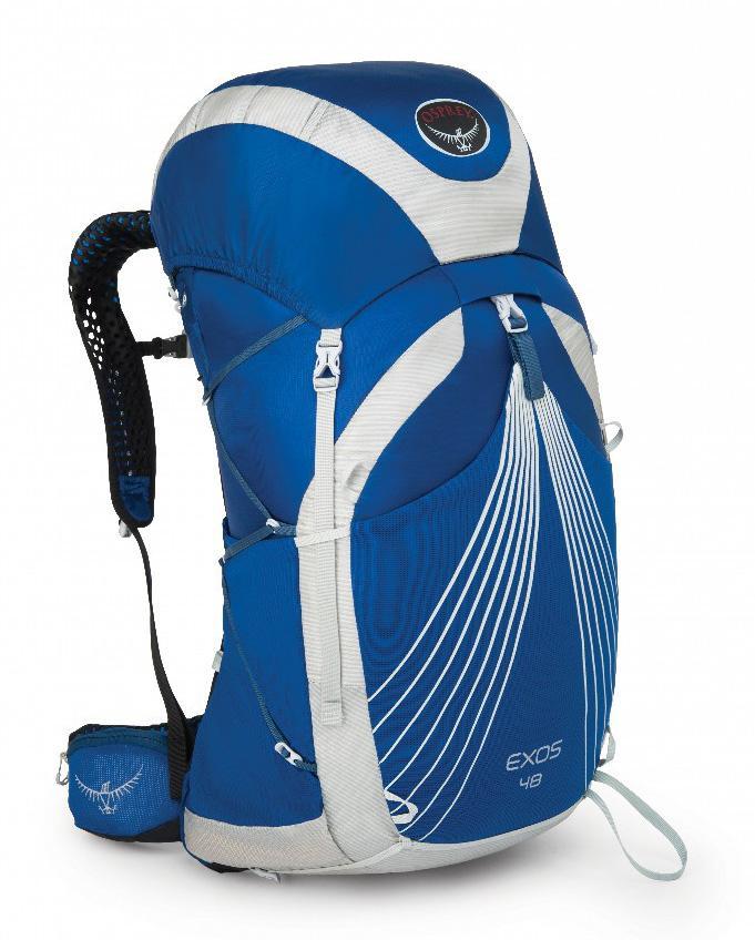 Рюкзак Exos 48Туристические, треккинговые<br><br> Какие цели вы преследуете, покупая легкий рюкзак? Комфорт? Удобство при переноске? Функциональные особенности? С Exos 38 вы можете не думать об этом! Рюкзаки серии Exos отличаются малым весом, не уступая при этом по функциональности и обеспечивая л...<br><br>Цвет: Синий<br>Размер: 52 л