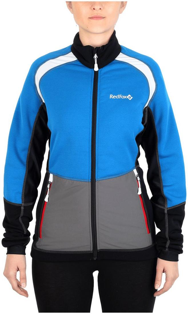 Куртка St.Line ЖенскаяКуртки<br><br> Легкая спортивная куртка на молнии из материалаPolartec® Power Stretch® Pro.Можно использовать в качестве промежуточного или<br> верхнего утепляющего слоя.<br><br><br> Основные характеристики:<br><br><br>анатомическая приталенная ...<br><br>Цвет: Небесно-голубой<br>Размер: 48