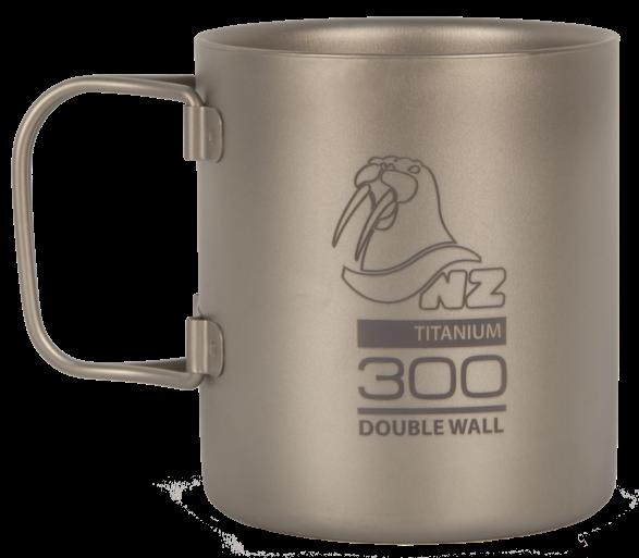 Термокружка (титан) NZ TMDW-300FHЧашки, кружки<br>Двустенная кружка из титана NZ TMDW-300FH Ti Double Wall Mug 300 ml. Кружка объемом 300 мл не обжигает руки и губы, имеет минимальный вес и складные ручки.<br><br>Вес: 92 г<br>Материал: Титан<br>Объём: 300 мл<br>Размер: 80х...<br><br>Цвет: Серый<br>Размер: None