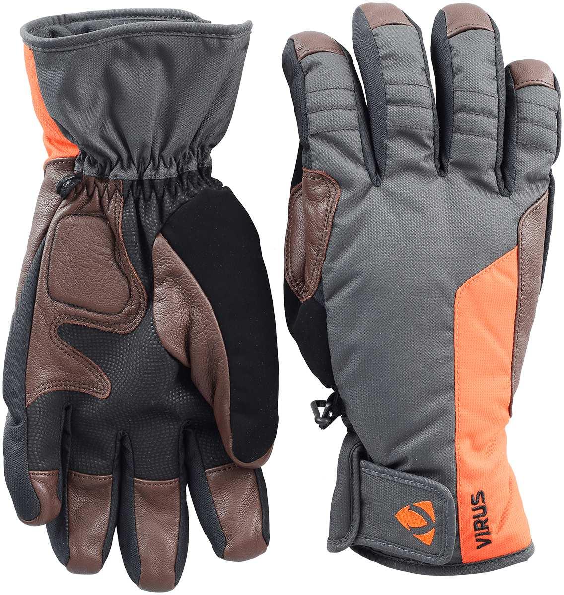 Перчатки F5 мужскиеПерчатки<br><br><br>Цвет: Черный<br>Размер: L