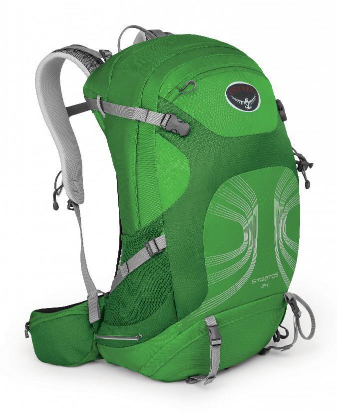 Рюкзак Stratos 34Рюкзаки<br><br><br>Цвет: Зеленый<br>Размер: 32 л