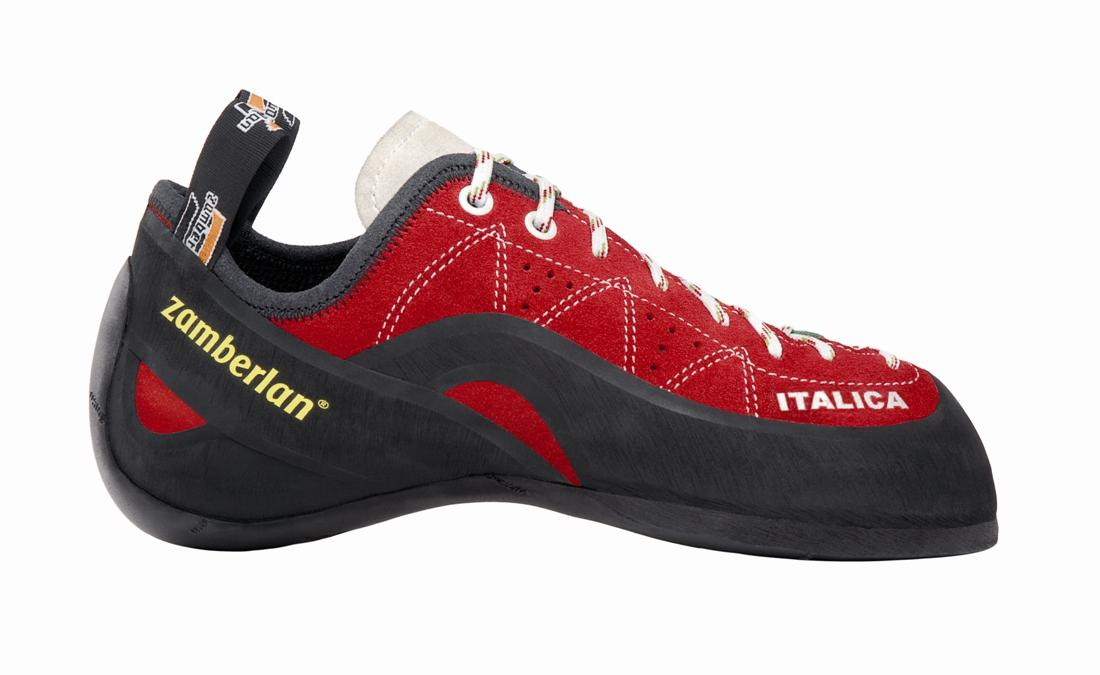 Скальные туфли A74 - ITALICA.Скальные туфли<br><br> Агрессивная форма, максимальная чувствительность носка для экстремального сцепления. Идеально подходят для соревнований и интенсивных тренировок. Четкая форма и посадка. Шнуровка для оптимальной фиксации. Подошва Vibram® Marchiata. Ассиметричный но...<br><br>Цвет: Черный<br>Размер: 41