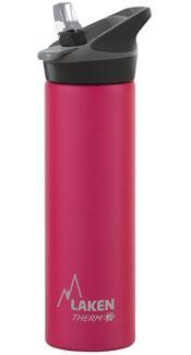 TJ7FS Термофляга JannuТермосы<br>Термофляга с дозатором для питья<br><br>Открывается автоматически<br>Гигиенический дозатор<br>Вертикальное поступление напитка<br>Широкое горлышко<br><br> Особенности:<br><br>Сохраняет напитки теплыми...<br><br>Цвет: Розовый<br>Размер: 0.75