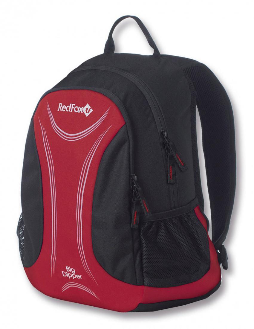 Рюкзак Big DipperРюкзаки<br><br> Городской рюкзак Red Fox BIG DIPPER отличный выбор однообъемного рюкзака для использования и в мегаполисе и в горах и для прогулок на природе. <br><br><br> Городской рюкзак Red Fox BIG DIPPER оснащен подвесной системой Active (S-образные, ж...<br><br>Цвет: Красный<br>Размер: 20 л