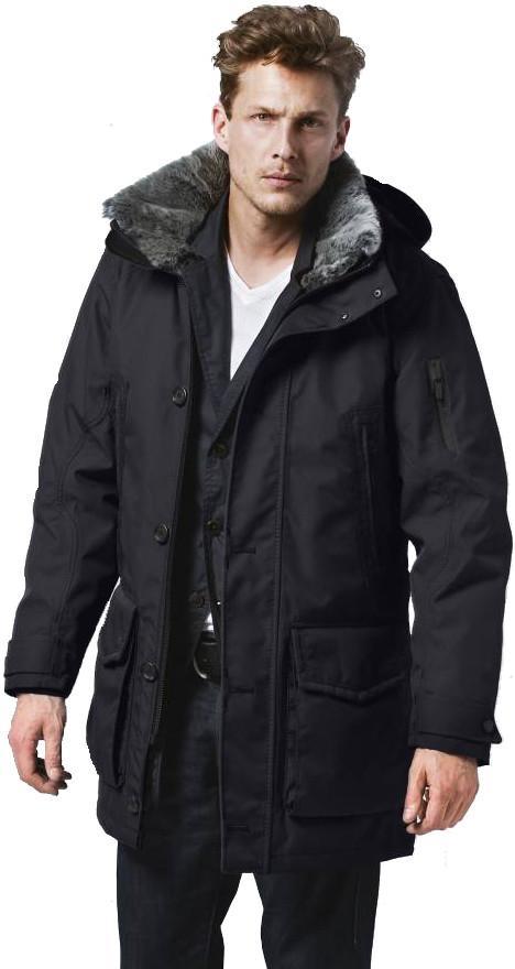 G-LAB Куртка утепленная с мехом мужская Explorer II Синий g lab куртка утепленная мужская commander синий