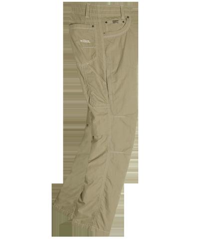 Брюки Kontra AirБрюки, штаны<br>Легкие мужские брюки анатомического кроя с вставками из сетки для лучшей вентиляции.<br><br> <br><br><br>Состав: 65% хлопок, 35% нейлон<br><br><br>Назначение: город, путешествия<br><br><br><br>Цвет: Бежевый<br>Размер: 38-32