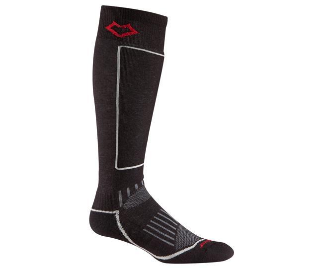 Носки лыжные 5021 BoyneНоски<br>Изготовленные с применением технологии Wick Dry® и Eco волокон, эти носки создают мягкую поддержку ноги и эффективно отводят влагу, сохраняя н...<br><br>Цвет: Черный<br>Размер: M