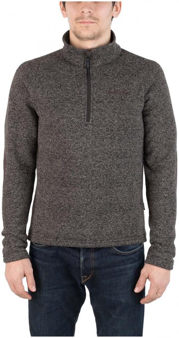 Свитер AniakСвитеры<br><br> Комфортный и практичный свитер для холодного времени года, выполненный из флисового материала с эффектом «sweater look».<br><br><br> Основные характеристики:<br><br><br>воротник стойка<br>рукав реглан для удобства движений...<br><br>Цвет: Темно-серый<br>Размер: 52