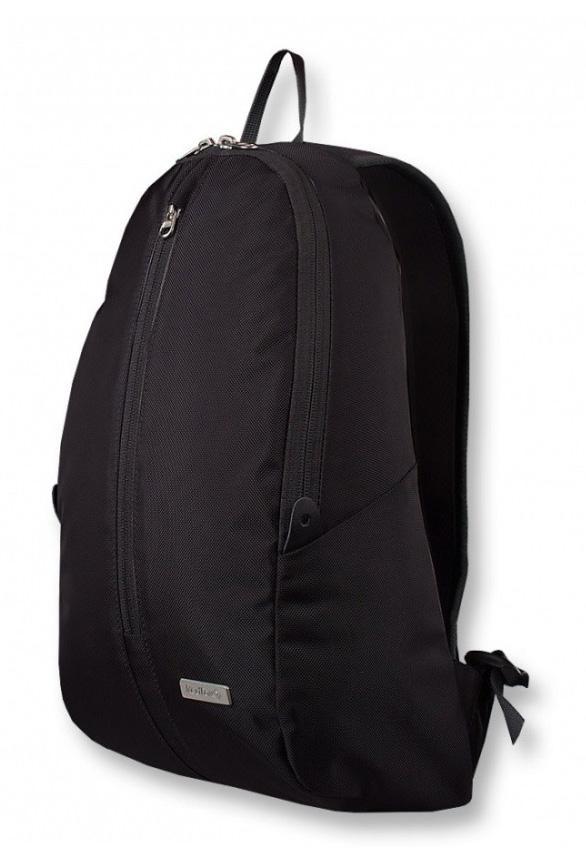 Рюкзак Victoria ЖенскийРюкзаки<br><br> Рюкзак Victoria – стильный женский городской рюкзак.<br><br><br>основное отделение с двухзамковой молнией со стальной фурнитурой<br>внутренний карман для ноутбука<br>внешний скрытый карман для телефона<br>внешний верт...<br><br>Цвет: Черный<br>Размер: 14 л