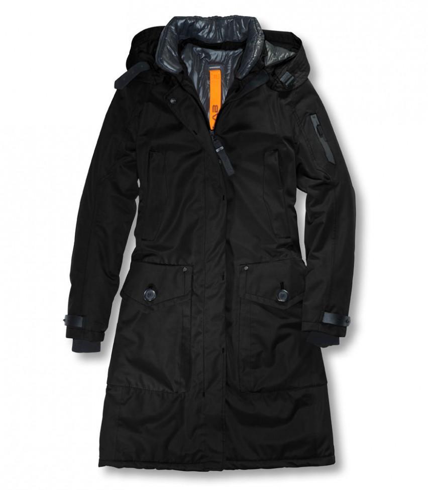 Куртка утепленная жен.Whistler IIКуртки<br><br> Женская куртка Whistler II длиной до колена привлекает внимание простотой кроя и, вместе с тем, элегантностью, которая подчеркнута кожаными ...<br><br>Цвет: Черный<br>Размер: L