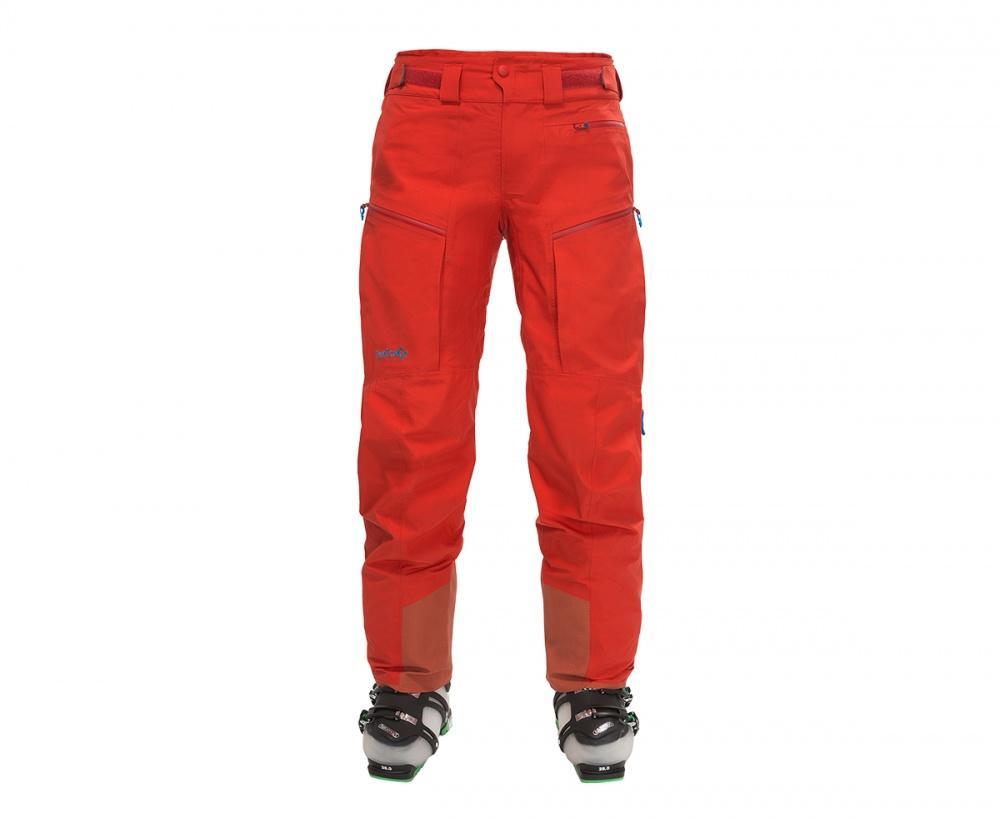 Брюки Flux ЖенскиеБрюки, штаны<br><br><br>Цвет: Красный<br>Размер: S