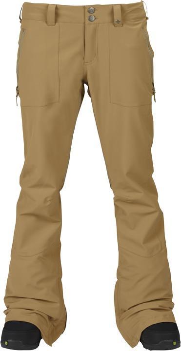 Брюки жен. г/л WB SKYLINE PTБрюки, штаны<br>Skyline – женские сноубордические брюки расклешенного кроя с посадкой по фигуре. В них вы будете чувствовать себя столь же удобно и расслабленно, как если бы надели любимые джинсы. Современные материалы от бренда Burton обеспечивают оптимальную вентиляцию...<br><br>Цвет: Бежевый<br>Размер: M